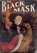 Black Mask (1920-1951 Pro-Distributors/Popular) Black Mask Detective Pulp Jan 1922