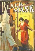 Black Mask (1920-1951 Pro-Distributors/Popular) Black Mask Detective Pulp Feb 1922