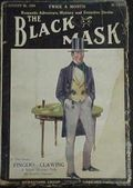 Black Mask (1920-1951 Pro-Distributors/Popular) Black Mask Detective Pulp Aug 15 1923
