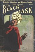 Black Mask (1920-1951 Pro-Distributors/Popular) Black Mask Detective Pulp Oct 15 1923