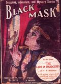 Black Mask (1920-1951 Pro-Distributors/Popular) Black Mask Detective Pulp Feb 15 1924