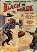 Black Mask (1920-1951 Pro-Distributors/Popular) Black Mask Detective Pulp Aug 1924