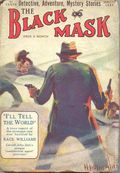 Black Mask (1920-1951 Pro-Distributors/Popular) Black Mask Detective Pulp Aug 1925