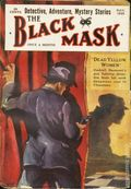 Black Mask (1920-1951 Pro-Distributors/Popular) Black Mask Detective Pulp Nov 1925