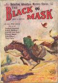 Black Mask (1920-1951 Pro-Distributors/Popular) Black Mask Detective Pulp Jan 1926
