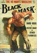 Black Mask (1920-1951 Pro-Distributors/Popular) Black Mask Detective Pulp Dec 1927