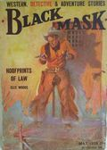 Black Mask (1920-1951 Pro-Distributors/Popular) Black Mask Detective Pulp May 1928