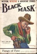 Black Mask (1920-1951 Pro-Distributors/Popular) Black Mask Detective Pulp Aug 1928