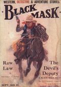 Black Mask (1920-1951 Pro-Distributors/Popular) Black Mask Detective Pulp Sep 1928