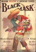 Black Mask (1920-1951 Pro-Distributors/Popular) Black Mask Detective Pulp Oct 1928