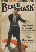 Black Mask (1920-1951 Pro-Distributors/Popular) Black Mask Detective Pulp Jan 1929
