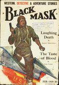 Black Mask (1920-1951 Pro-Distributors/Popular) Black Mask Detective Pulp Feb 1929