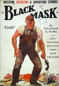 Black Mask (1920-1951 Pro-Distributors/Popular) Black Mask Detective Pulp May 1929