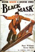 Black Mask (1920-1951 Pro-Distributors/Popular) Black Mask Detective Pulp Jun 1929