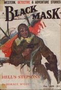 Black Mask (1920-1951 Pro-Distributors/Popular) Black Mask Detective Pulp Oct 1929