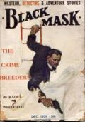 Black Mask (1920-1951 Pro-Distributors/Popular) Black Mask Detective Pulp Dec 1929