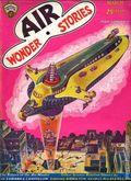 Air Wonder Stories (1929-1930 Stellar) Pulp Vol. 1 #9