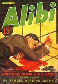 Alibi (1934 A.A. Wyn) Pulp Vol. 1 #1