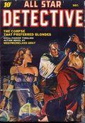 All Star Detective (1941-1942 Manvis) Pulp Vol. 1 #2