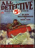 All Detective Magazine (1932-1935 Dell Publishing) Pulp Vol. 1 #1