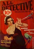 All Detective Magazine (1932-1935 Dell Publishing) Pulp Vol. 3 #8