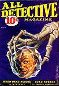 All Detective Magazine (1932-1935 Dell Publishing) Pulp Vol. 6 #18