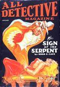 All Detective Magazine (1932-1935 Dell Publishing) Pulp Vol. 9 #27