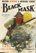 Black Mask (1920-1951 Pro-Distributors/Popular) Black Mask Detective Pulp Jan 1930