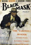 Black Mask (1920-1951 Pro-Distributors/Popular) Black Mask Detective Pulp Feb 1930