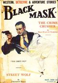 Black Mask (1920-1951 Pro-Distributors/Popular) Black Mask Detective Pulp May 1930