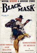 Black Mask (1920-1951 Pro-Distributors/Popular) Black Mask Detective Pulp Jul 1930
