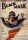 Black Mask (1920-1951 Pro-Distributors/Popular) Black Mask Detective Pulp Aug 1930