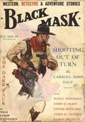 Black Mask (1920-1951 Pro-Distributors/Popular) Black Mask Detective Pulp Oct 1930