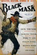 Black Mask (1920-1951 Pro-Distributors/Popular) Black Mask Detective Pulp Jan 1931