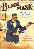 Black Mask (1920-1951 Pro-Distributors/Popular) Black Mask Detective Pulp Aug 1931