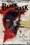 Black Mask (1920-1951 Pro-Distributors/Popular) Black Mask Detective Pulp Jul 1932