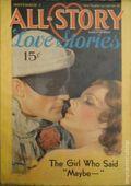 All-Story Love (1929-1955 Popular Publication) Pulp Vol. 20 #3