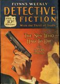 Flynn's Weekly Detective Fiction (1924-1926 Red Star News) Pulp Vol. 30 #3