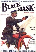 Black Mask (1920-1951 Pro-Distributors/Popular) Black Mask Detective Pulp Jan 1933