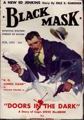 Black Mask (1920-1951 Pro-Distributors/Popular) Black Mask Detective Pulp Feb 1933