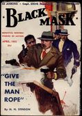 Black Mask (1920-1951 Pro-Distributors/Popular) Black Mask Detective Pulp Apr 1933