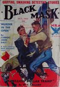Black Mask (1920-1951 Pro-Distributors/Popular) Black Mask Detective Pulp Oct 1933