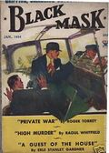 Black Mask (1920-1951 Pro-Distributors/Popular) Black Mask Detective Pulp Jan 1934