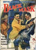Black Mask (1920-1951 Pro-Distributors/Popular) Black Mask Detective Pulp Jul 1934