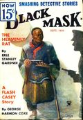 Black Mask (1920-1951 Pro-Distributors/Popular) Black Mask Detective Pulp Sep 1934