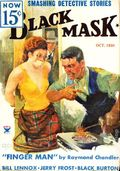 Black Mask (1920-1951 Pro-Distributors/Popular) Black Mask Detective Pulp Oct 1934