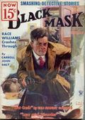 Black Mask (1920-1951 Pro-Distributors/Popular) Black Mask Detective Pulp Nov 1934