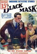 Black Mask (1920-1951 Pro-Distributors/Popular) Black Mask Detective Pulp Dec 1934