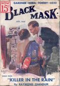 Black Mask (1920-1951 Pro-Distributors/Popular) Black Mask Detective Pulp Jan 1935