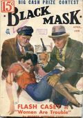 Black Mask (1920-1951 Pro-Distributors/Popular) Black Mask Detective Pulp Apr 1935